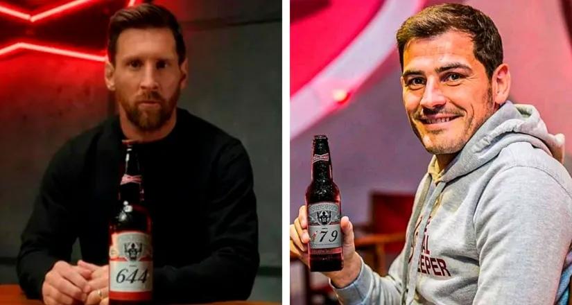 «Ты доказал, что справляешься с этой задачей»: Икер Касильяс обращает особое внимание на Месси, получив 17 бутылок пива