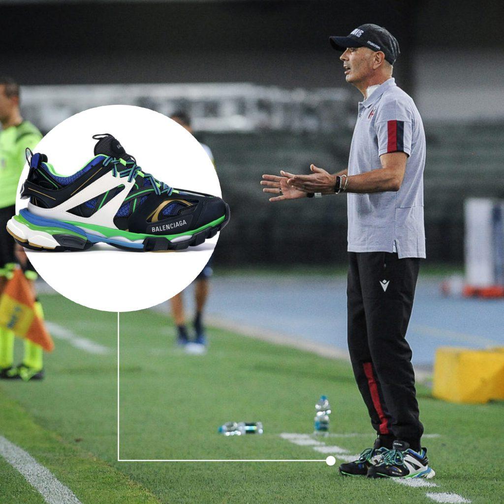 Синиша Михайлович – фанат кроссовок. Носит коллаб Nike и Трэвиса Скотта, а еще несколько расцветок Balenciaga Track