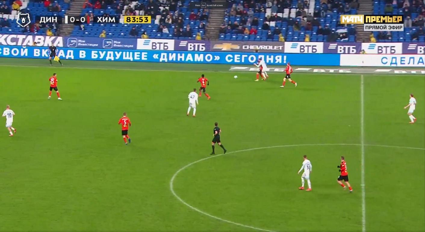 тур 27, Динамо - Химки 0:1