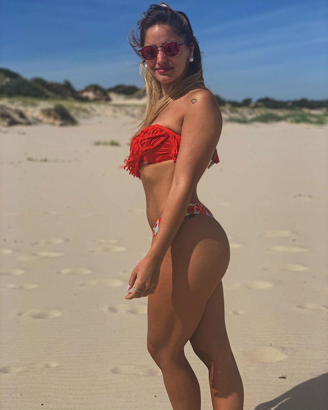 Паула Монтилья – жена защитника «Динамо» Гильермо Варелы. Познакомились в спортзале, а теперь она его личный тренер!
