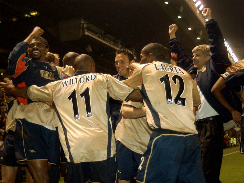 Манчестер юнайтед арсенал 0 1 вильторд 2002