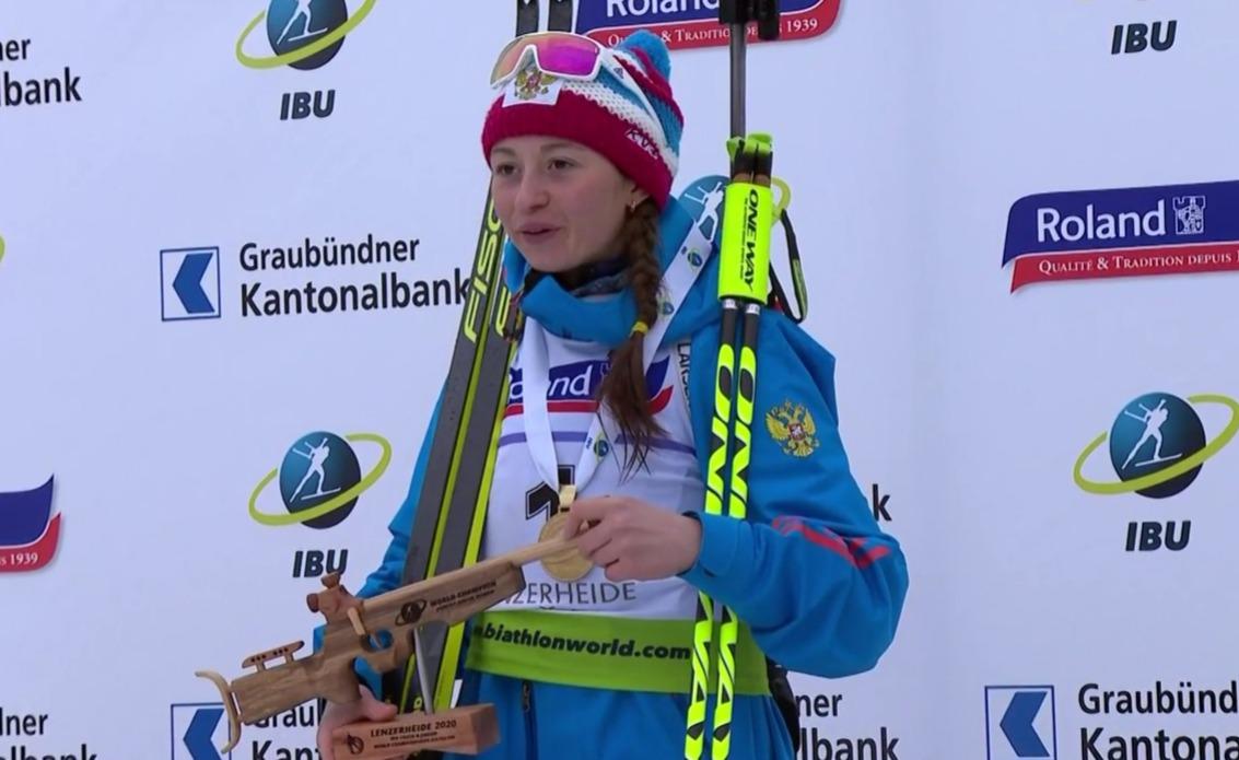 Названа новая звезда российского биатлона у женщин, которая уже обыгрывает основу