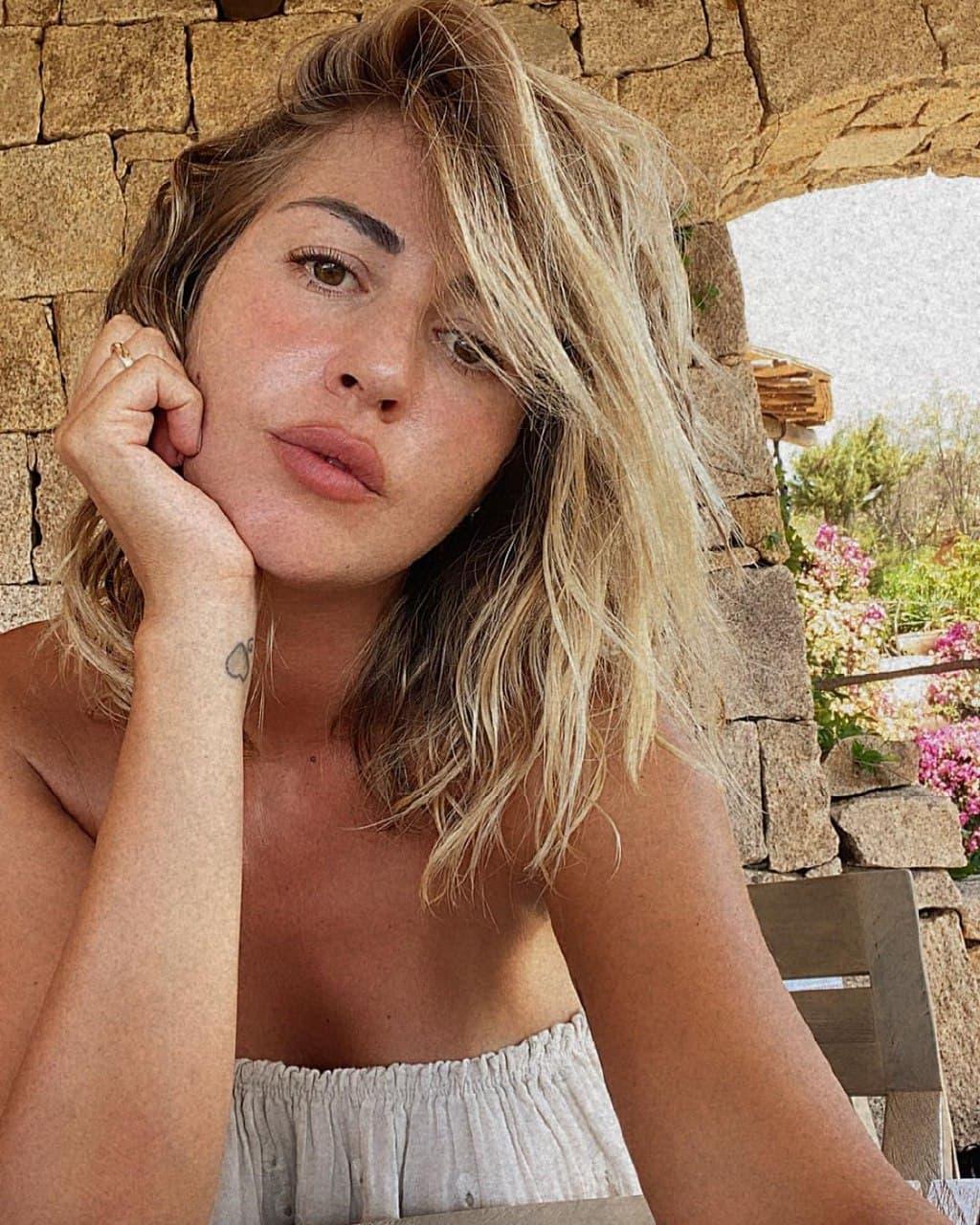 Роберта Синополи – жена Клаудио Маркизио. Пост о естественной красоте без вульгарных фото