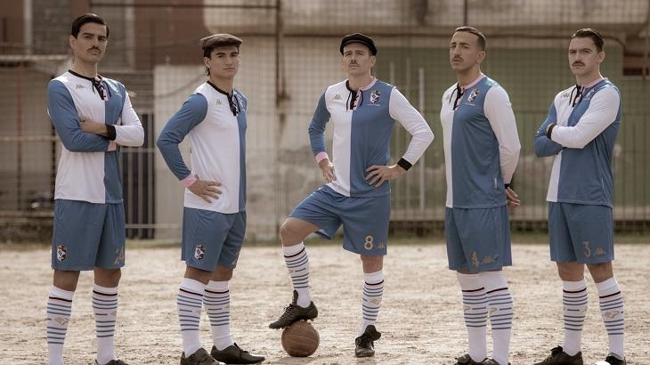 «Палермо» стильно представил форму к 120-летию. Клуб возродился после банкротства – играет в Серии С
