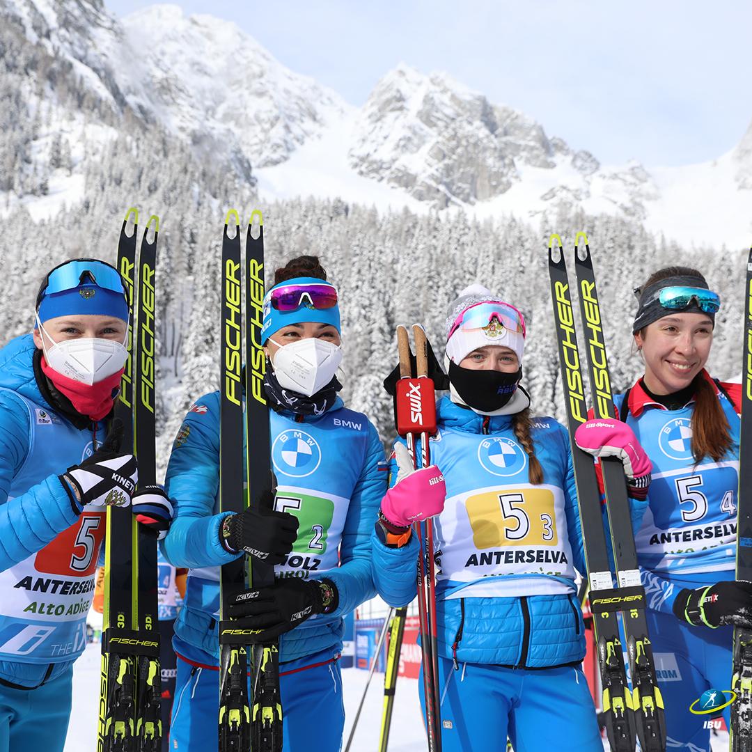 Вновь дрогнула Германия! Женская сборная России добывает долгожданное золото в эстафете