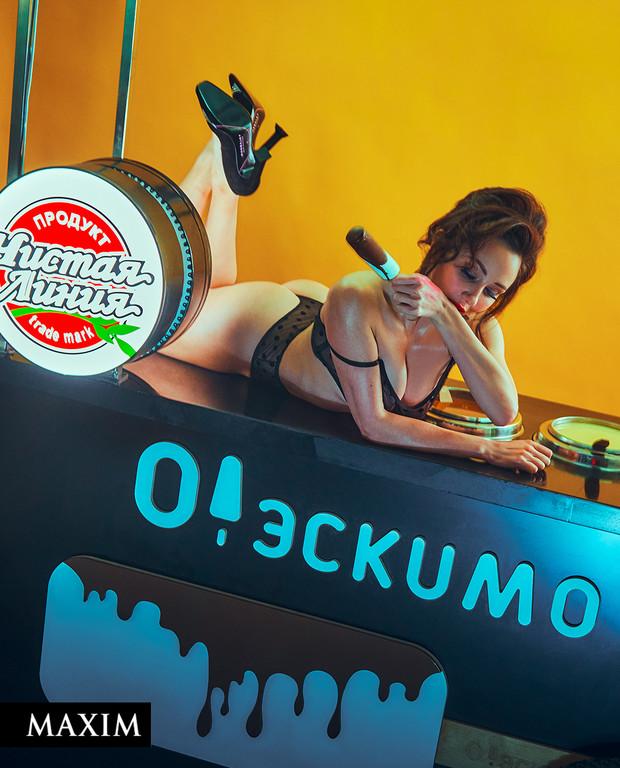 Фотосессия фигуристки Лизы Туктамышевой для журнала MAXIM