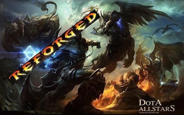 Warcraft 3: Reforged, Dota 2