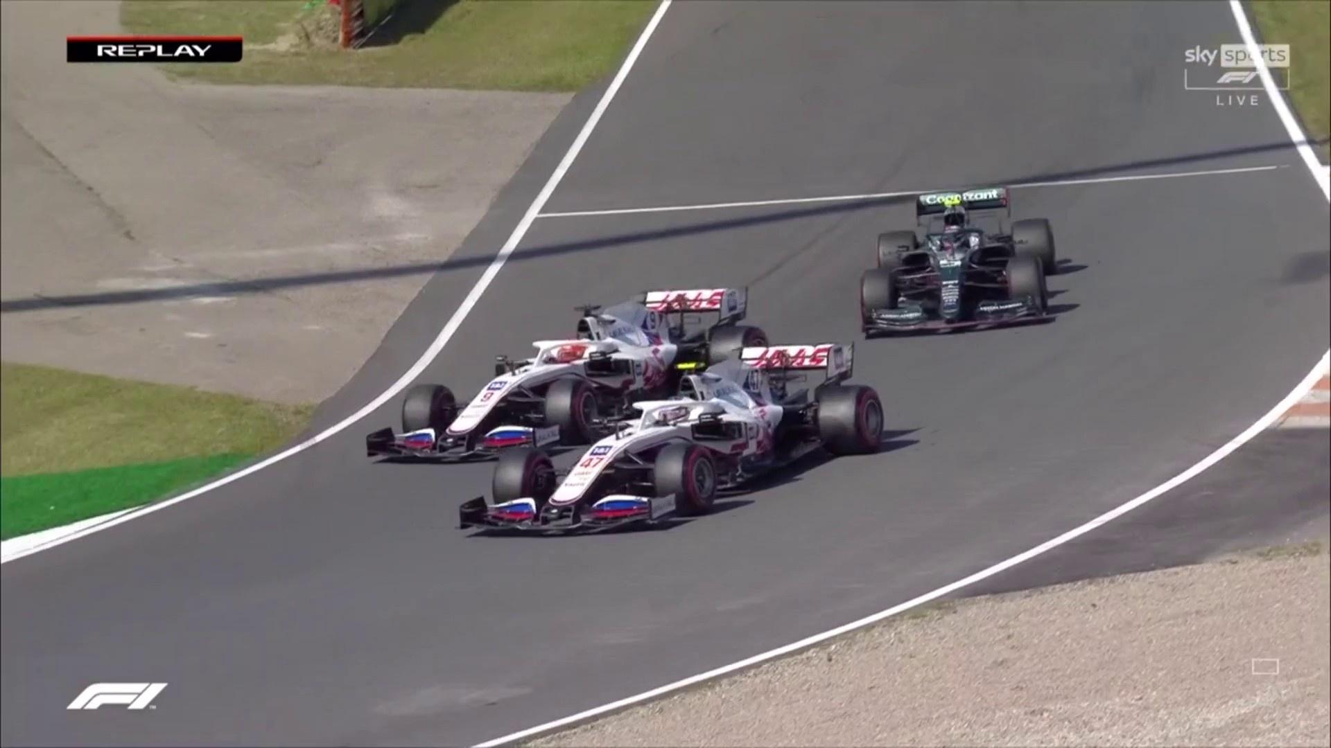 Haas F1 drivers, Dutch GP