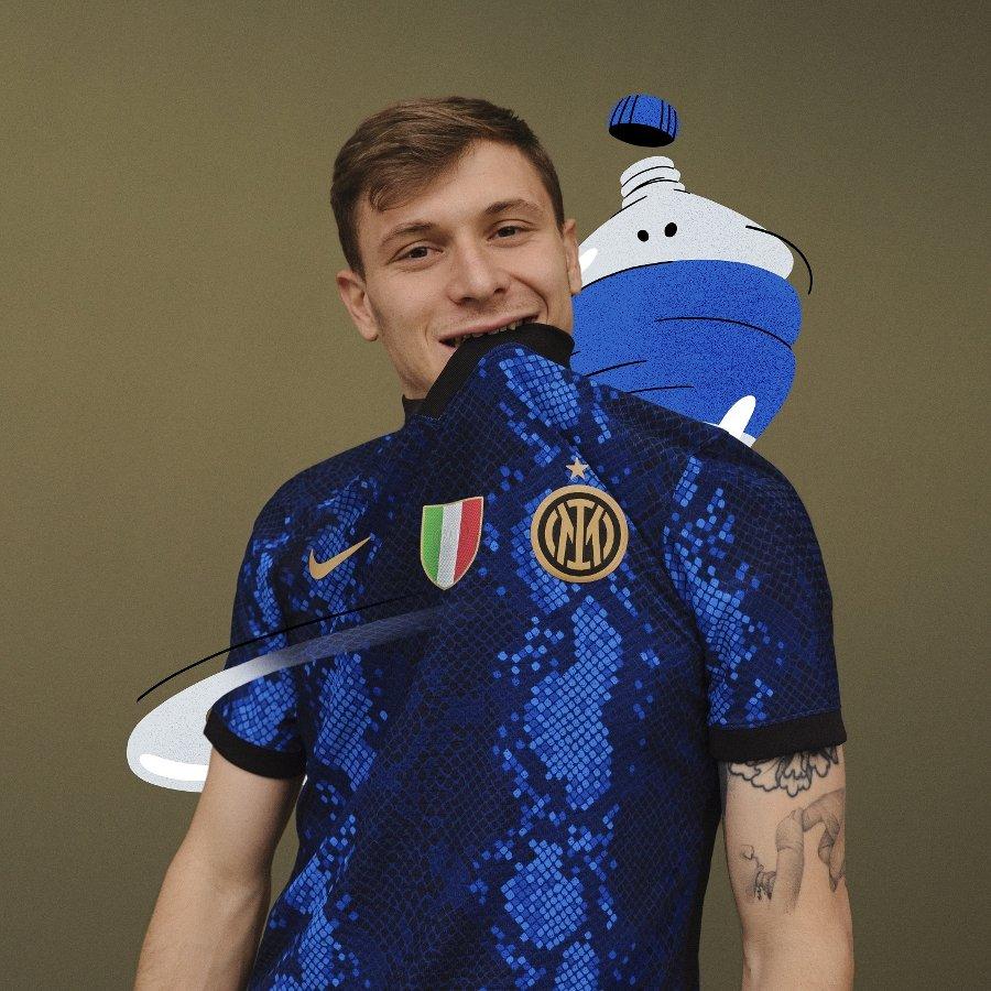Новая форма «Интера» — 🐍! Змея – символ Милана, даже была на логотипе «Интера»