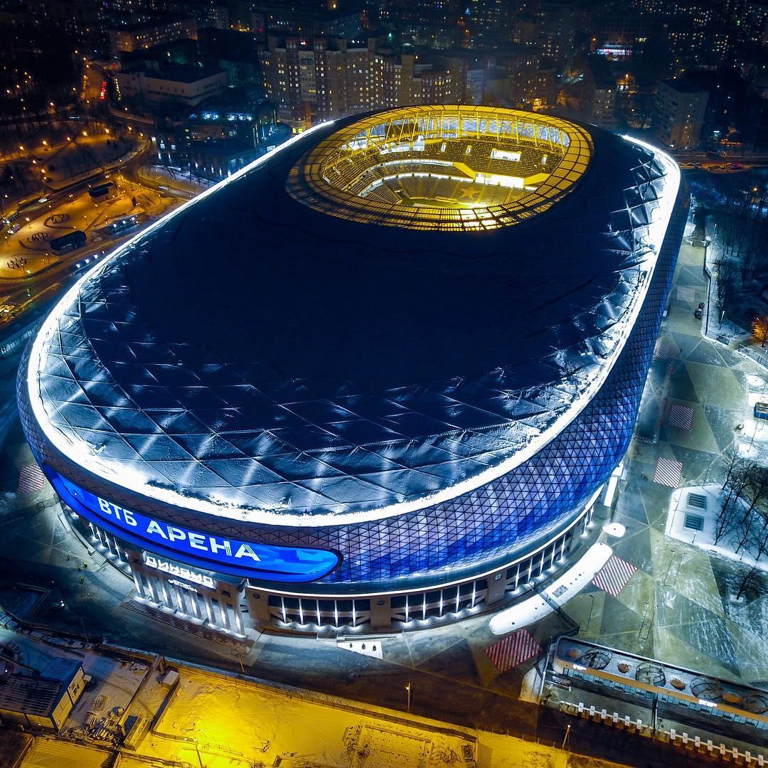 Стадион ВТБ-Арена: вместимость, все матчи, фото