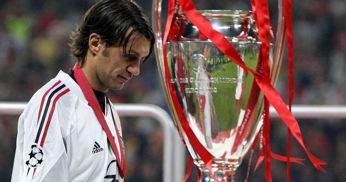 Милан, Лига чемпионов УЕФА, Ливерпуль, Паоло Мальдини