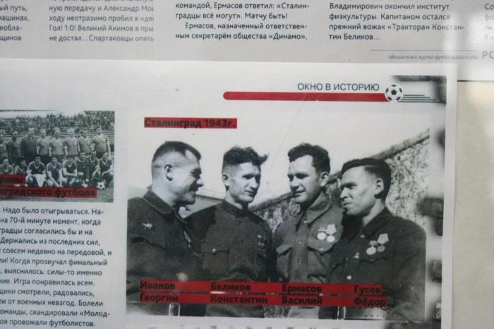 Матч на руинах: Как сталинградские фронтовики обыграли московских футбольных чемпионов