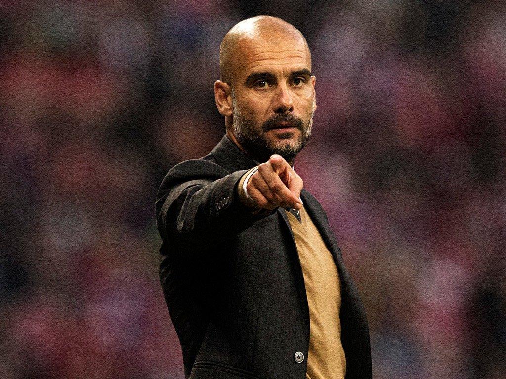 Пеп Гвардиола, тренер Манчестер Сити