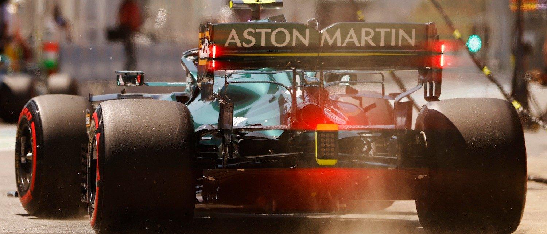 «Астон Мартин» привозит новинки каждую гонку и смог снять полсекунды с круга, но этого все равно недостаточно
