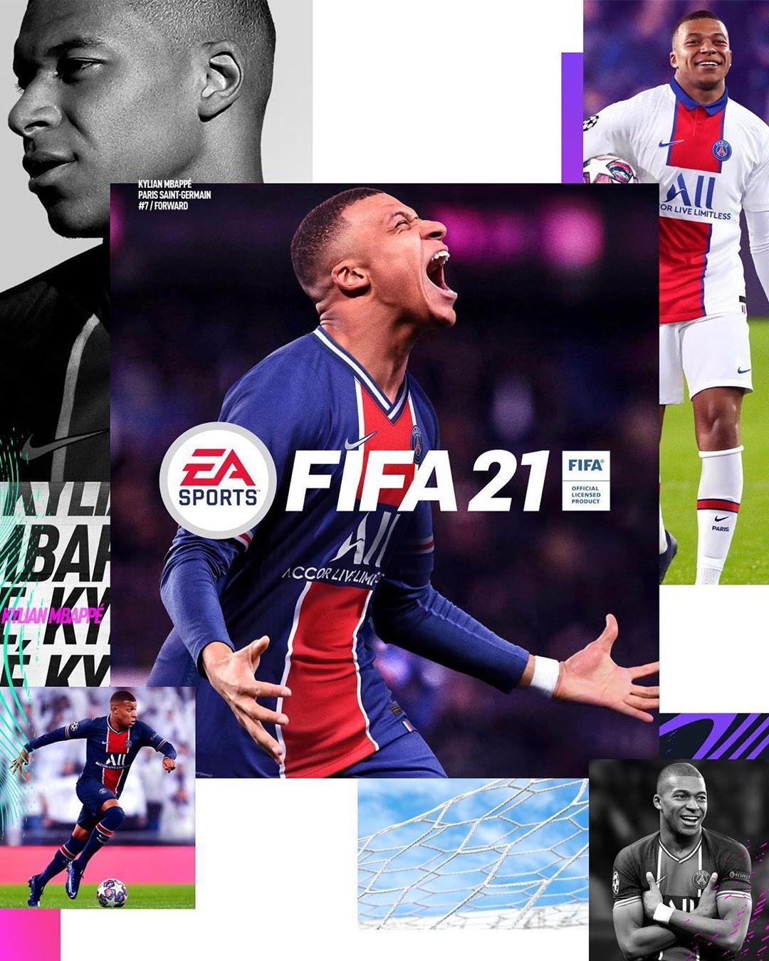Килиан Мбаппе, FIFA 21, EA Sports