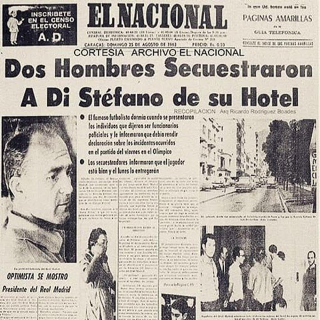 Похищение Ди Стефано