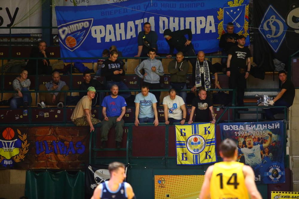 Будивельник, Киев-Баскет, Суперлига Украины, Днепр