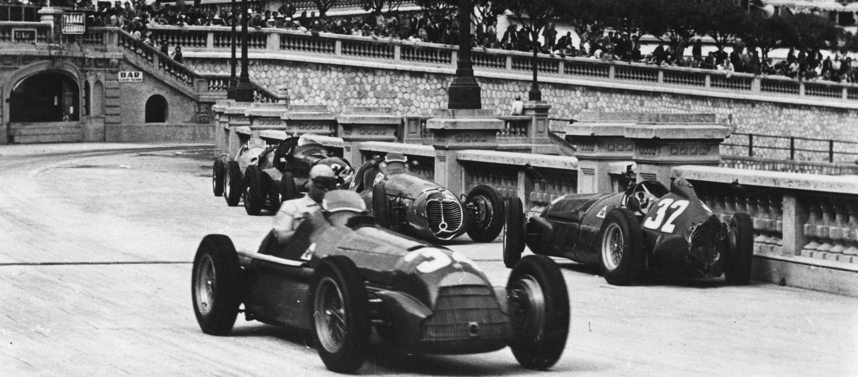 Гран-при Монако, Формула-1, Феррари, Энцо Феррари, Конкурс, Альфа Ромео, Хуан-Мануэль Фанхио, Нино Фарина