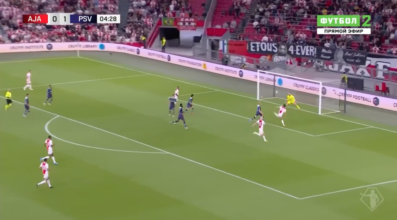 ПСВ вынес «Аякс» в Суперкубке: дубль сделал 19-летний полузащитник, а Бьорн Куйперс провел последний матч в судейской карьере