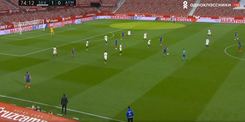 Выход Эрреры преобразил атакующую игру «Атлетико» против «Севильи», но его усилий не хватило даже для ничьей