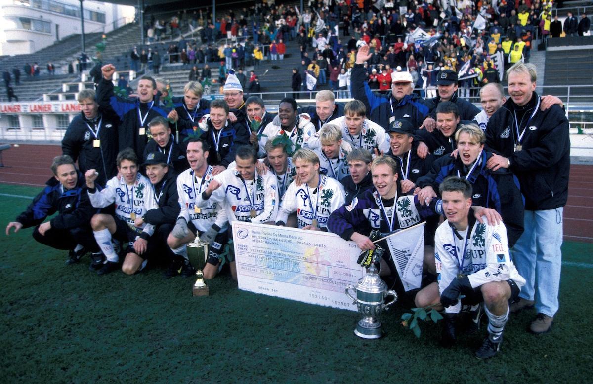 В 90-е русский клуб играл в чемпионате Финляндии 3