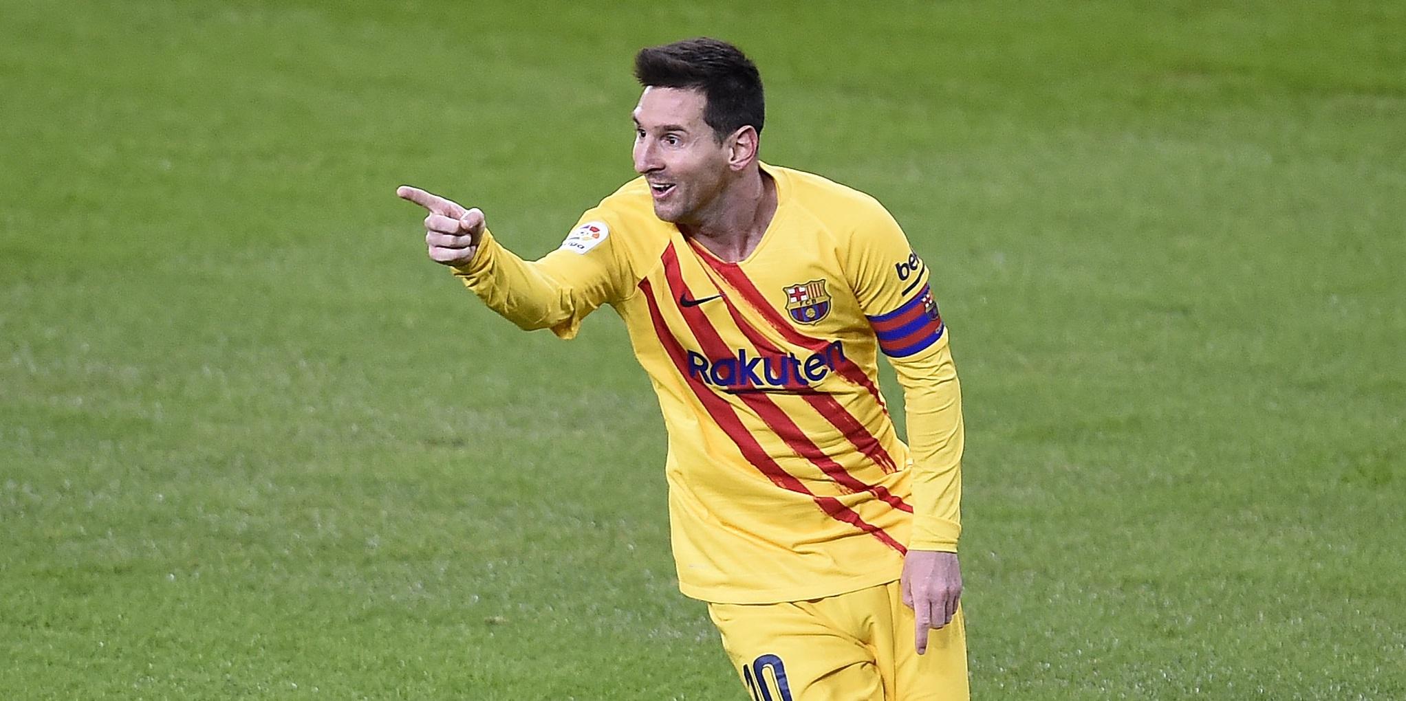 Месси сделал дубль в матче с «Атлетиком» и вышел на первую строчку бомбардиров Ла Лиги