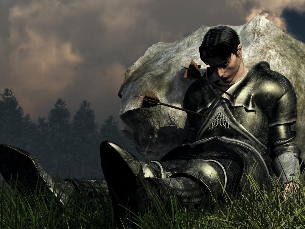 Уставший воин картинки