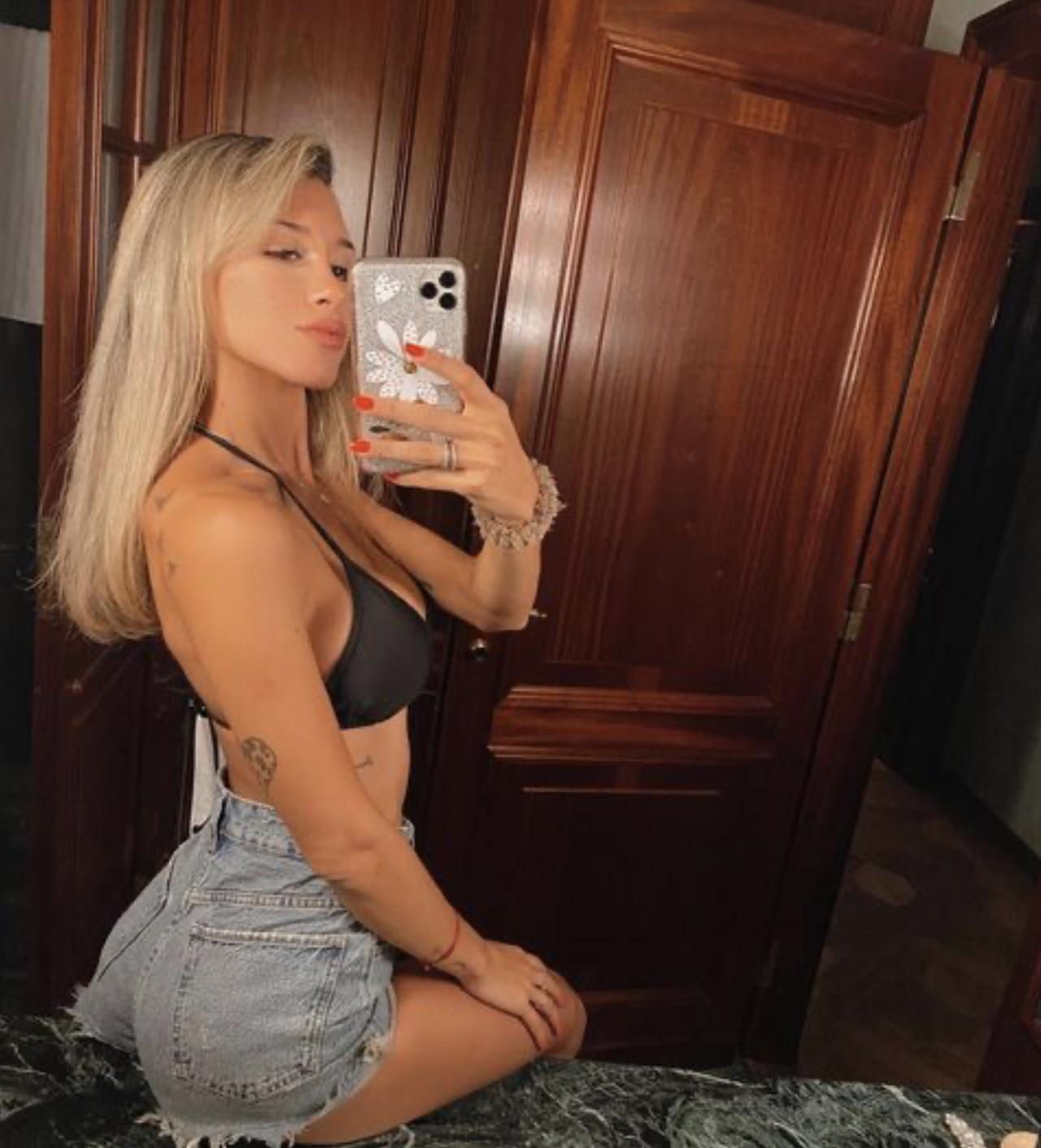 Августина Гандольфо — девушка нападающего «Интера» Лаутаро Мартинеса. На днях у пары родилась дочь