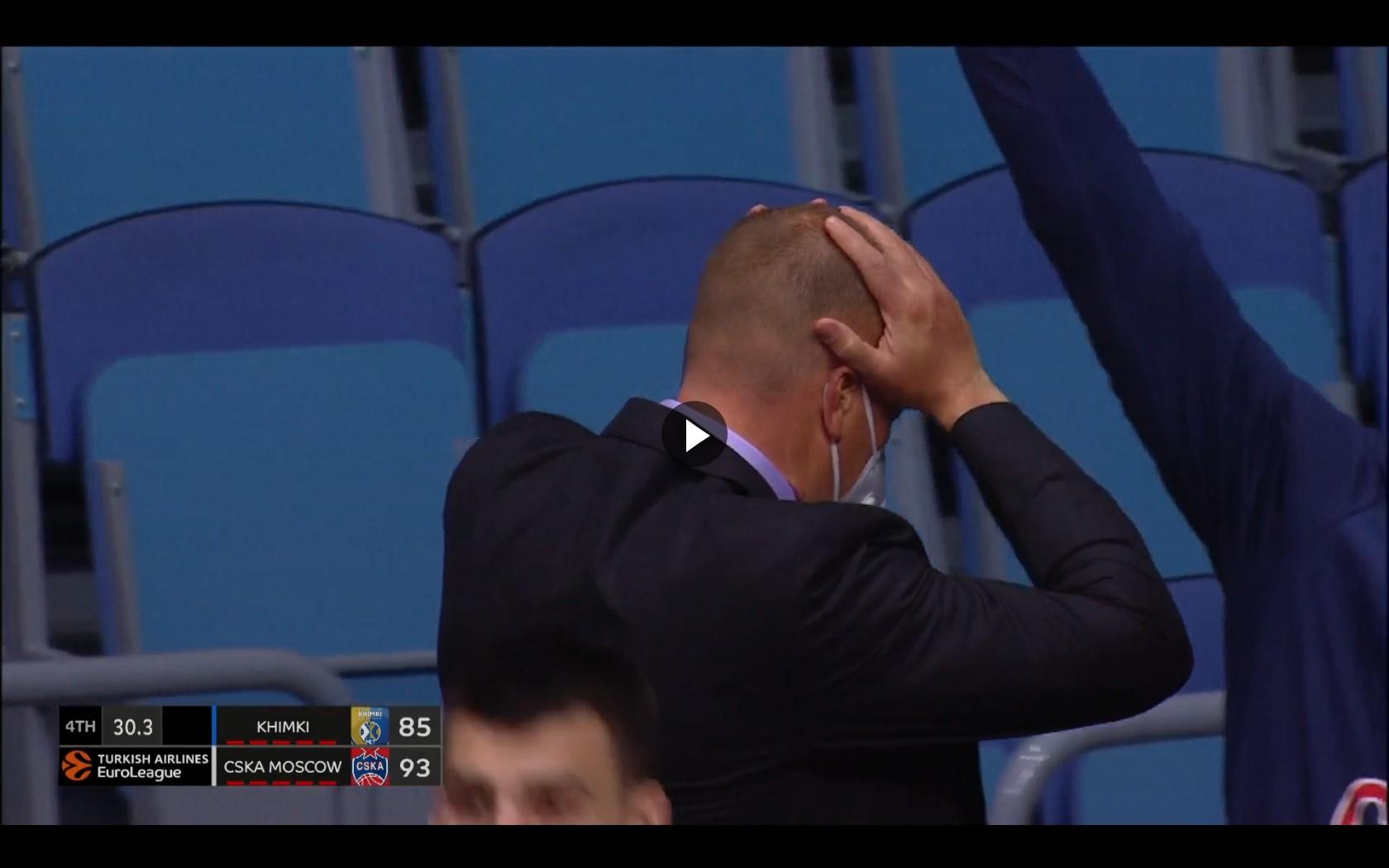В одном шаге от трипл-дабла. Джеймс приносит ЦСКА победу над Химками, но историческое достижение не покорилось