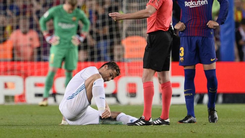травмы, Криштиану Роналду, Реал Мадрид