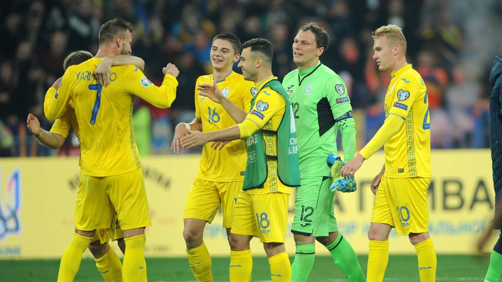Сборная Португалии по футболу, Евро-2020, Сборная Украины по футболу, квалификация Евро-2020, Эдуард Цихмейструк