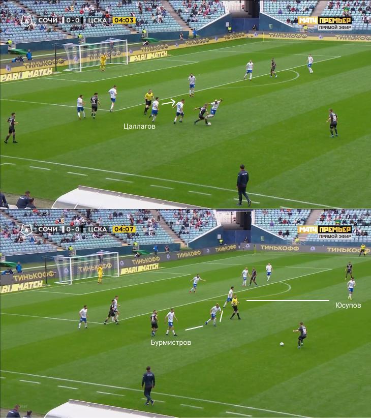 «Сочи» был прекрасен в первые 60 минут, но затем Олич чуть не перевернул игру заменами