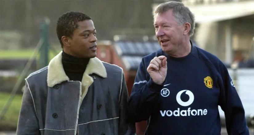 Эвра назвал двух игроков «Юнайтед», которым сэр Алекс Фергюсон пророчил большое тренерское будущее