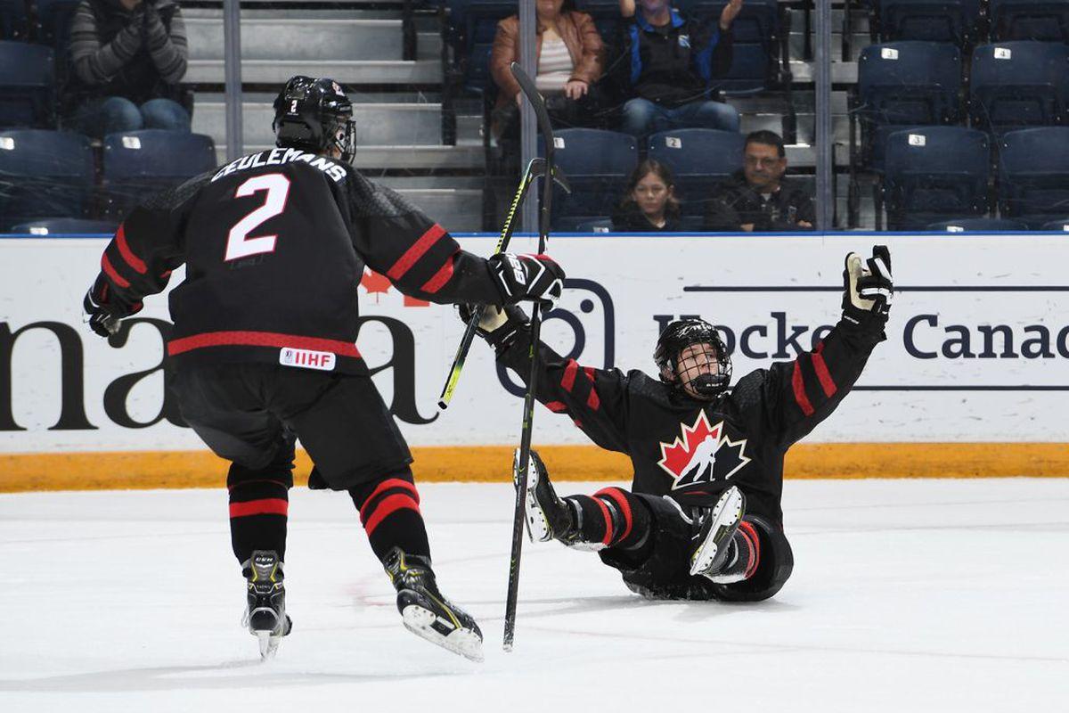 сборная России U18, Сборная Канады по хоккею, сборная Канады U18, Мировой кубок вызова, Коннор Макдэвид, НХЛ, молодежный чемпионат мира, драфт НХЛ, ЧМ по хоккею юниорский, Коннор Бедард