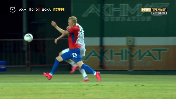 После дерби ЦСКА повалил «Ахмат», забив 3 гола за 4 минуты. Гончаренко выиграл два матча подряд впервые с ноября