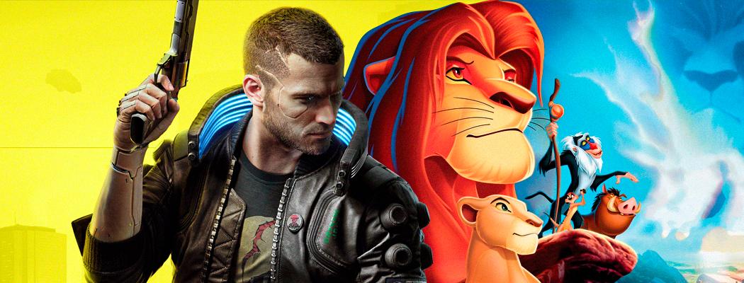 CD Projekt, CD Projekt RED, The Lion King, The Last of Us 2, Ведьмак 3: Дикая Охота, Cyberpunk 2077, Джонни Сильверхэнд