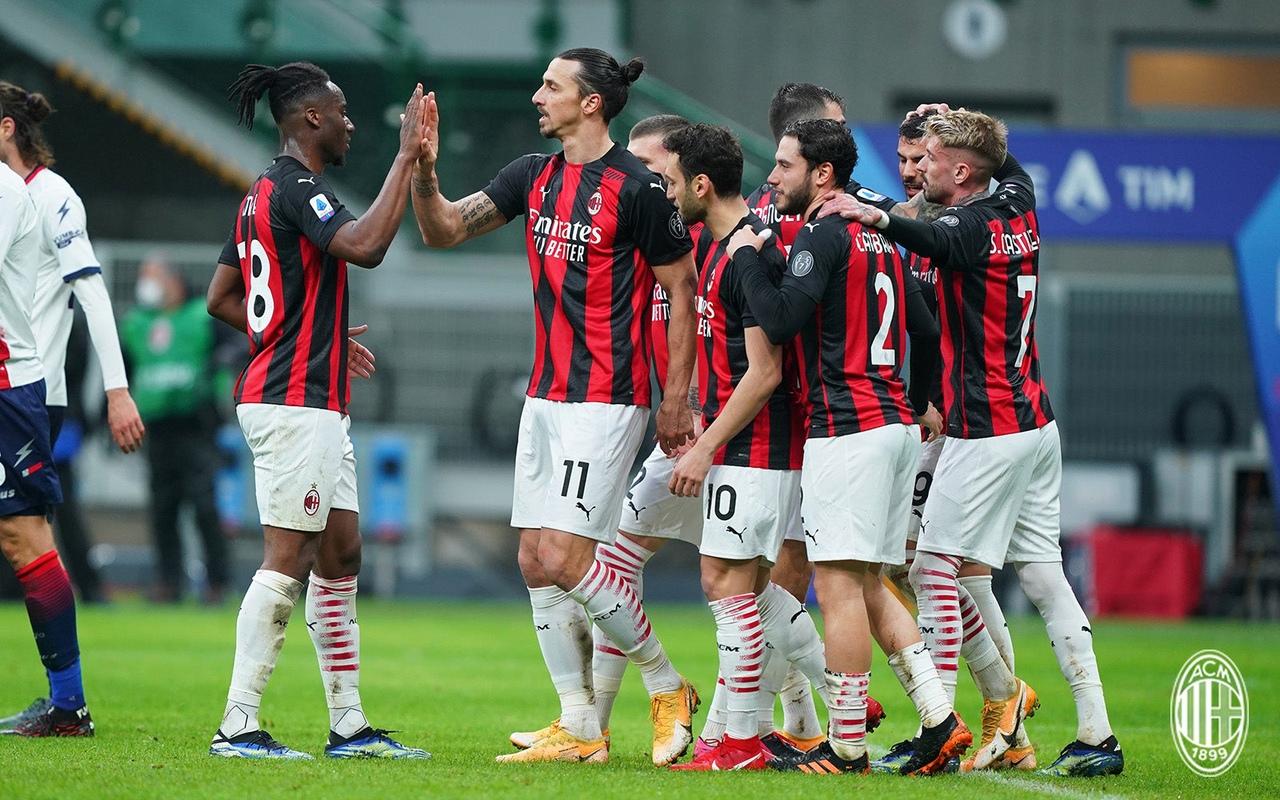 У «Милана» жесткий график: за десять дней – «Црвена» (дважды), «Интер» и «Рома». Но физически команда на подъёме