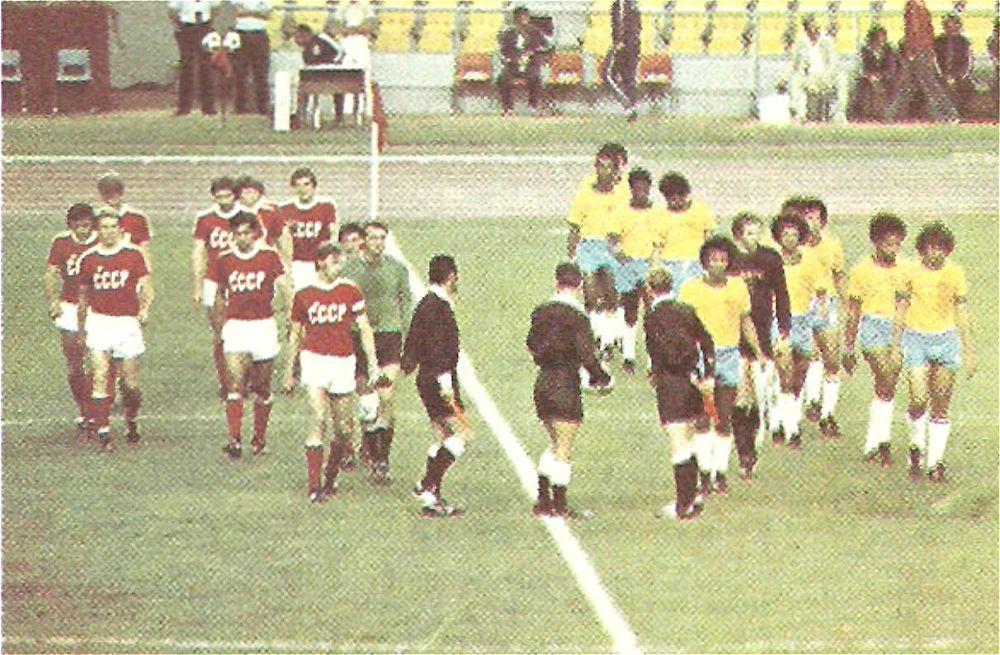 45 лет назад советские футболисты взяли бронзу Олимпиады. В Монреале обыграли Бразилию без шансов для соперника