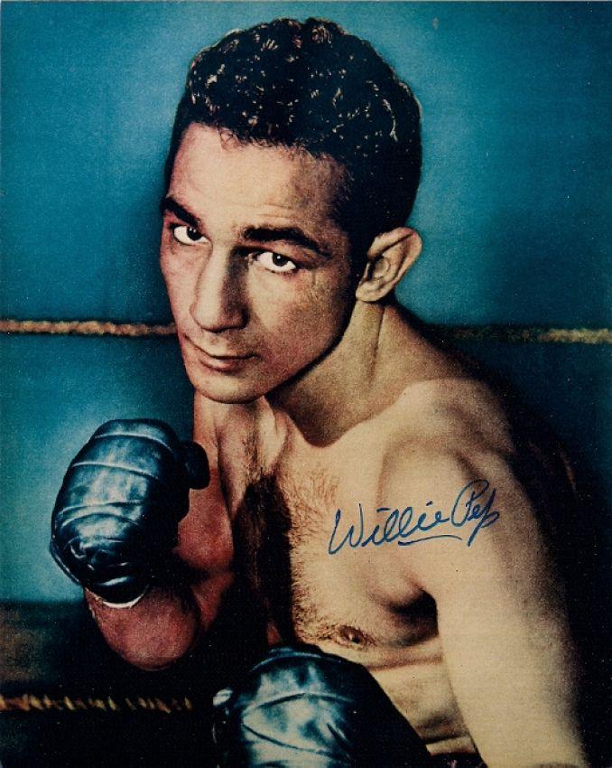 Международный зал боксерской славы, бокс, Уилли Пеп, Легенда