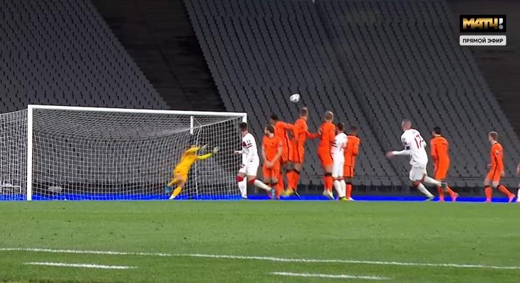 Отбор на ЧМ-2022 начался с триллера в Турции: 6 голов, хет-трик Йылмаза, почти камбэк Нидерландов с 0:3