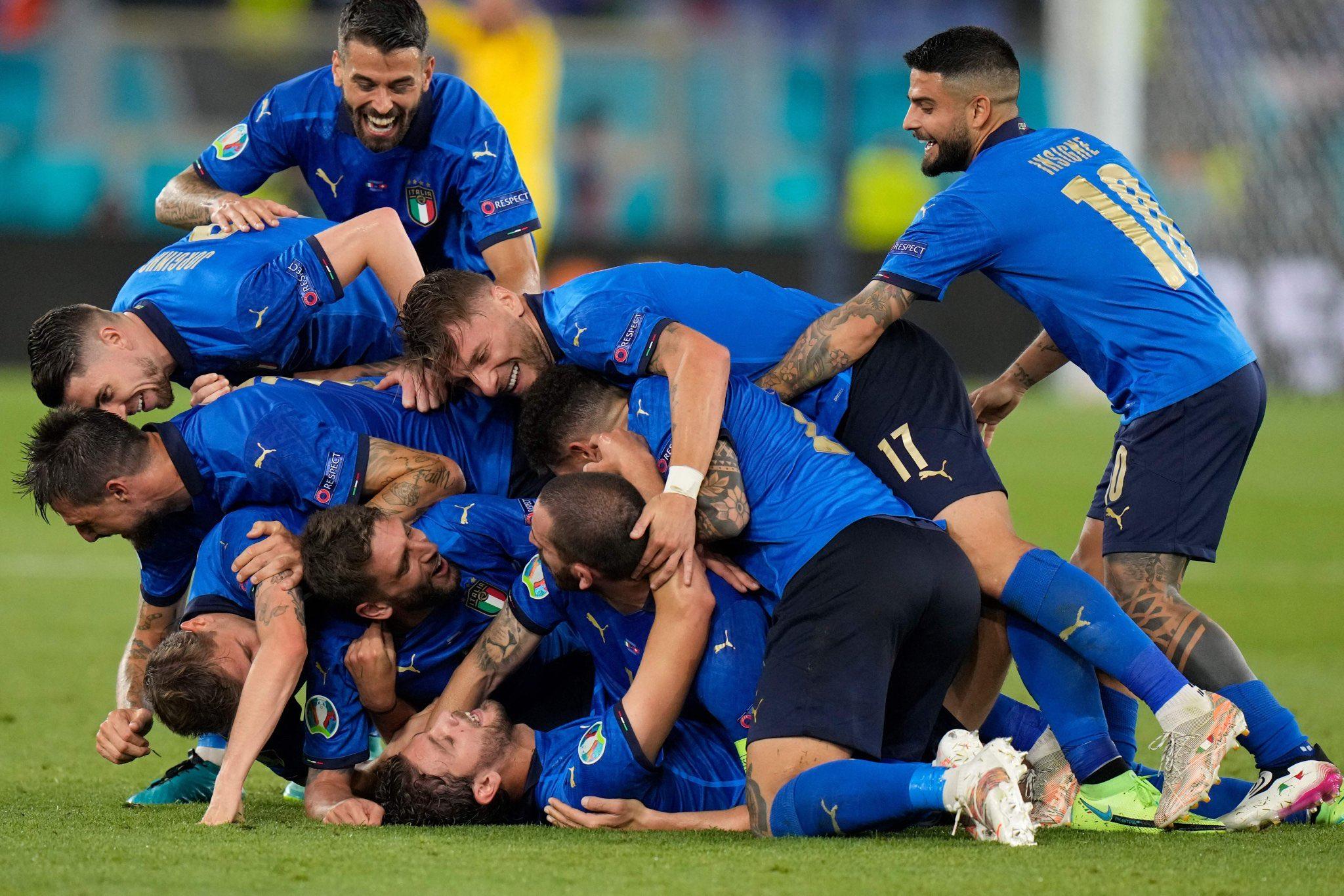 Италия слишком хороша, чтобы не выиграть Евро