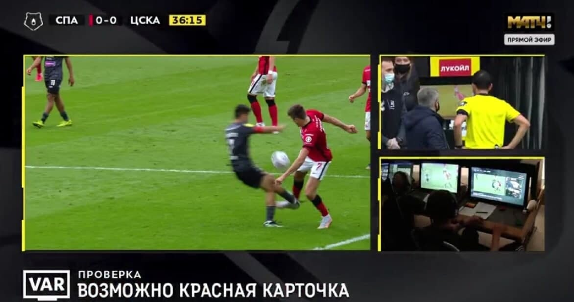 Красная Ахметову –ошибка, пенальти за объятия с Комличенко был. Эксперты снова нашли ключевые судейские косяки