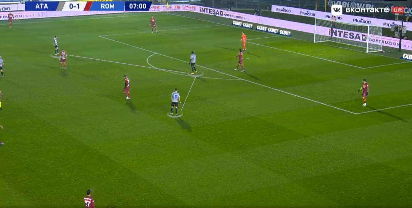 Иличич перевернул игру в Бергамо: «Рома» пропустила четыре мяча за тайм