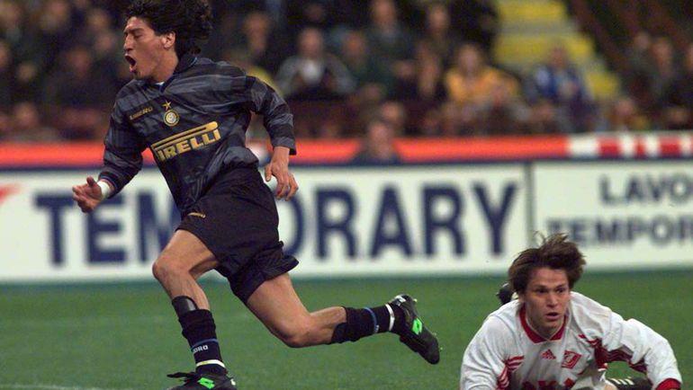 В 1998-м «Спартак» рубился с «Интером» в полуфинале Кубка УЕФА. И пропустил три гола на последних минутах таймов