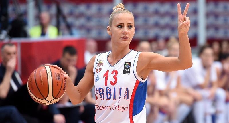 сборная Сербии жен, Милица Дабович