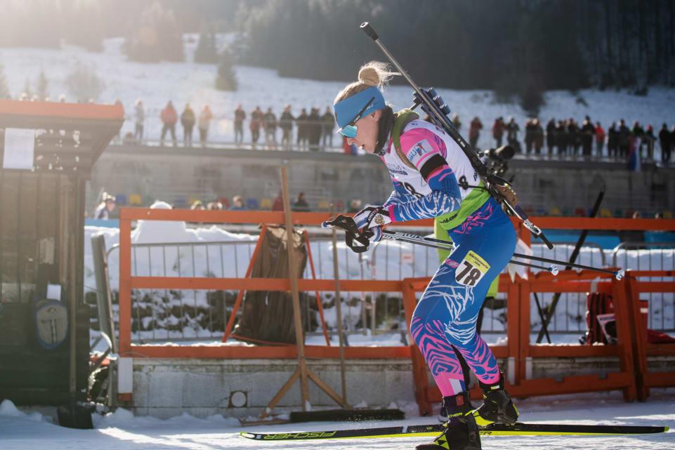 Екатерина Глазырина выигрывает индивидуальную гонку Кубка IBU