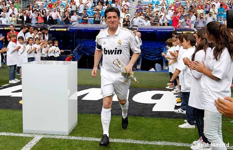 Диего Марадона, Чендо, Лига чемпионов УЕФА, Реал Мадрид