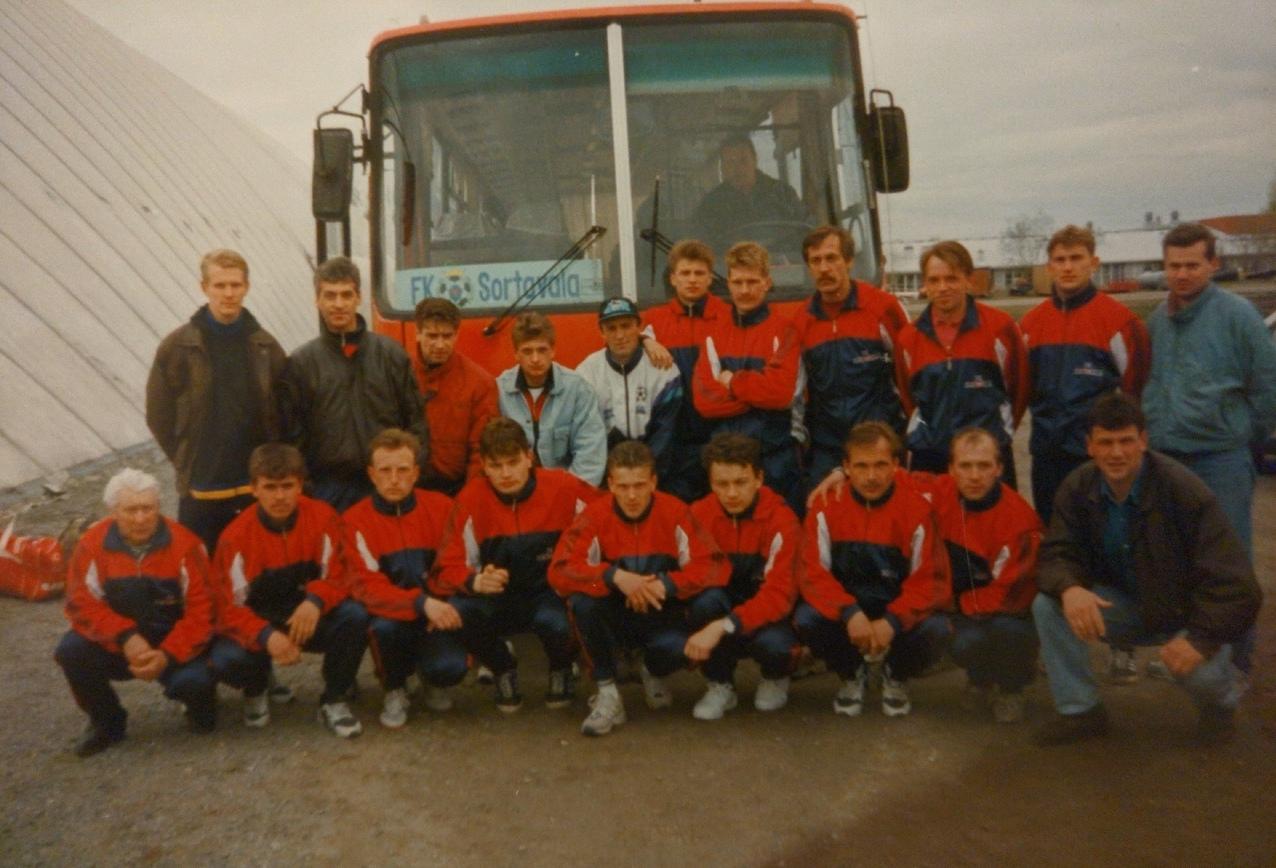 В 90-е русский клуб играл в чемпионате Финляндии 4