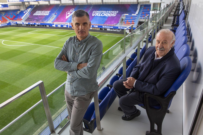 Перед матчем «Эйбара»и мадридского «Реала» Мендилибар и дель Боске поговорили о прошлом, настоящем и будущем футбола