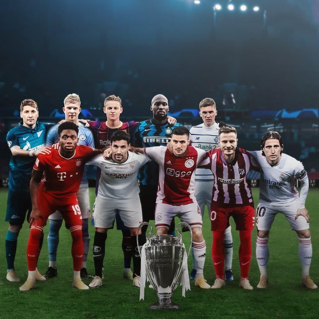 высшая лига Нидерланды, премьер-лига Россия, бундеслига Германия, серия А Италия, премьер-лига Украина, Ла Лига, Лига чемпионов УЕФА, премьер-лига Англия